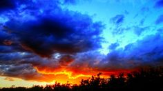 On a Warm Summer's Eve in La Coulee, Manitoba Eve, Outdoors, Clouds, Warm, Celestial, Sunset, Nature, Travel, Naturaleza