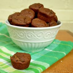 Chocolate Zucchini Bites from Real Food Real Deals