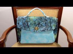 Bolsa em tecidos Gwen - Patchwork Maria Adna - Bolsa em tecidos importados - Bolsas - YouTube