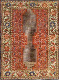 "Persian Malayer Mishan rug, 4'3""X5'9"", 1880, Keivan Woven Arts Gallery"