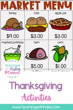 Thanksgiving activities-writing, flipbooks, printables, and more - Teaching with Haley. This packet is full of activities perfect for your little ones to use in the days and weeks leading up to Thanksgiving or during fall/autumn. In this packet, you will find 2 versions (regular lines and handwriting lines). Learn more about the different themed worksheets from all about pilgrims, Native Americans, and turkeys. While learning valuable skills such as word search and story problems. Activities For 1st Graders, Halloween Activities, Holiday Activities, Thanksgiving Poems, Thanksgiving Worksheets, Turkey Rolls, Teaching Vowels, Handwriting Lines, Spelling Patterns