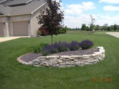 Idea for berm in front yard ...