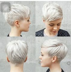 Image result for 360 view of pixie haircuts