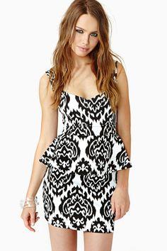 Perception Peplum Dress