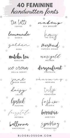 Polices Cricut, Tattoo Handwriting Fonts, Calligraphy Tattoo Fonts, Free Tattoo Fonts, Tattoo Typography, Typography Letters, Typography Quotes, Handwritten Calligraphy Fonts, Typography Poster