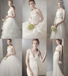 Vera Wang bridal collection. Middle bottom row is the ONE.