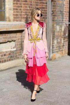 Hey, Sheila: Street Style from Australian Fashion Week Fast Fashion, High Fashion, Womens Fashion, Fashion Trends, Fashion Sets, Style Fashion, Tokyo Fashion, India Fashion, Fashion Black