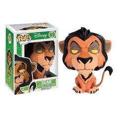 The Lion King Scar Pop! Vinyl Figure - Funko - Lion King - Pop! Vinyl Figures at Entertainment Earth