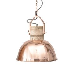 Libra Lighting Merle Medium Copper Ceiling Pendant - industrial interiors can sometimes look a bit cold but this copper pendant light brings back some warmth Copper Ceiling, Copper Pendant Lights, Wood Pendant Light, Copper Lighting, Ceiling Pendant, Pendant Lighting, Ceiling Lights, Pendant Lamps, Lighting Uk