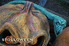 Pumpkin With Snake...Sue 2012