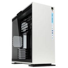 In-Win 303 Midi Tower Case - White | OcUK