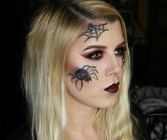 maquillaje de bruja ideas para lucir elegante este halloween decoracin de araas maquillaje - Maquillaje Bruja