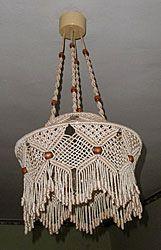 Технология плетения абажуров и кашпо
