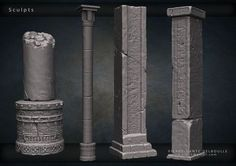 ArtStation - Mayan Temple - Monthly Noob Challenge 4, Pierre-Dante Delboulle