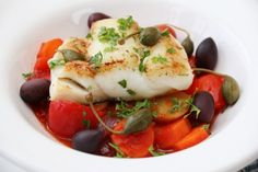 » SKREIFAVORITTER Caprese Salad, Seafood, Bacon, Meat, Chicken, Recipes, Sea Food, Recipies, Ripped Recipes