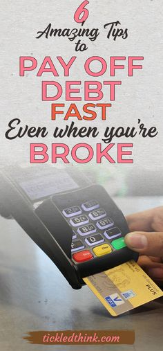 Feeling crashed under the weight of debt? Check out these effective tips that can help you get out of debt. Take control of your finances and try these effective tips today! #debtfree #debt #fast #money #financialfreedom #financialpeace #broke