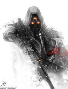 Helghast Scout by ~SpoonfishLee on deviantART