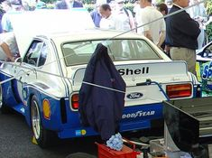 Mk 1, Ford Capri, Road Racing, Race Cars, Competition, Classic, Blue, Dance Floors, Drag Race Cars
