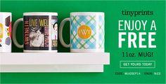 Free mug from Tiny Prints through tomorrow!!!