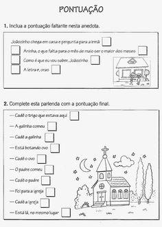 Professoras na web: Atividades de pontuação para 4º ano Autism Support, Learn Portuguese, Too Cool For School, School Kids, Teaching Writing, Sistema Solar, Bullying, Homeschool, Learning