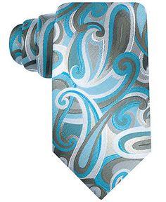 John Ashford Tie, Shady Paisley - Ties - Men - Macy's