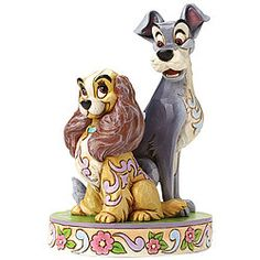 Jim Shore - Lady and the Tramp - Opposites surely do attract!