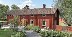 Swedish Cottage, Red Cottage, Sweden House, Red Houses, This Old House, Small Buildings, Exterior, Design, Arquitetura