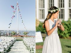 #Nantucket #wedding by Zofia & Co. at Great Harbor Yacht Club #nantucketwedding #weddingflorals #whiteflorals #blackandwhitewedding #greenandwhitewedding #blacktiewedding