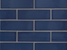 Pantone's Color of the Year: Classic Blue | Bedrosians Tile & Stone Blue Subway Tile, Blue Tiles, Booth Seating In Kitchen, Pantone 2020, Blue Block, Ceramic Wall Tiles, Fireplace Surrounds, Coordinating Colors, Color Of The Year