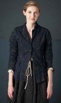 Alabama Chanin blazer--can't tell you how much I love this!