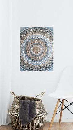 Mandala, Tapestry, Etsy, Home Decor, Craft, Hanging Tapestry, Tapestries, Decoration Home, Room Decor