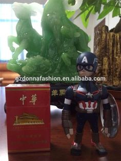Wholesale PVC The avenger alliance Ultron Q version of captain America 02 # 2 model furnishing articles, View captain America, donnatoyfirm Product Details from Guangzhou Donna Fashion Accessory Co., Ltd. on Alibaba.com
