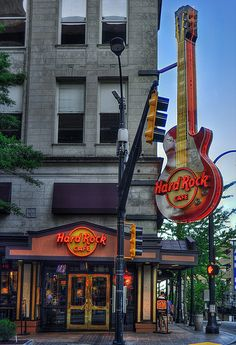 Hard Rock Cafe In Atlanta, Georgia