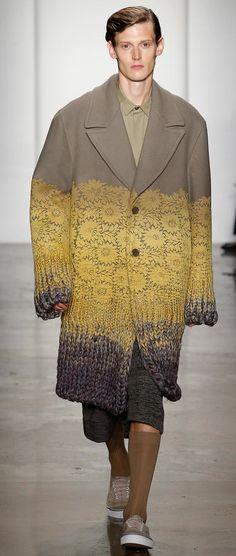 Amazing knit details Pauline Choi Parsons MFA 2015