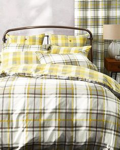 Checks have made their way into our bedding collection. See how cosy they can be by tapping the link in our bio. #check #bedding #home #bed #homeware #home #homedecor #decor #sleep #cosyProduct code: 391407