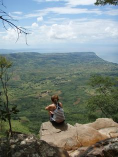Looking over to Mozambique