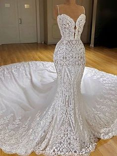 Looking for plus size wedding dresses in Lace Mermaid Sleeveless styles, and hope to custom made Zipper Lace bridal dresses in affordable price? Newarrivaldress covers all on this elegant Latest Lace Mermaid Wedding Dresses Cheap Online Wedding Dress Trends, Sexy Wedding Dresses, Perfect Wedding Dress, Bridal Dresses, Maxi Dresses, Elegant Dresses, Formal Dresses, Modest Wedding, Backless Wedding