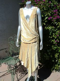 From 1924, a beaded flapper dress.