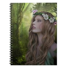 Rapunzel of the Forest Notebook #notebook #rapunzel #backtoschool