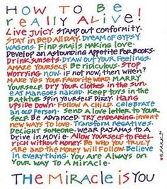 How To Be Really Alive! - SARK
