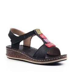 Item ID: Occasion: Daily, Casual Upper Material: PU Heel Type: Low Gender: Women Toe Type: Open Toe Heel Height: Low Theme: Summer Style: Casual, Daily, Holiday Shipping Recei. Leather Sandals Flat, Leather Heels, Wedge Sandals, Summer Sandals, Simple Sandals, Stylish Sandals, Comfortable Sandals, Casual Heels, Women's Casual