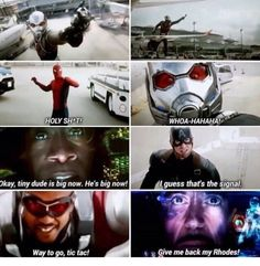 THIS WAS THE BEST EVER (Give me back my Rhodey!)