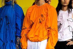 MSGM SS17 Milan womenswear backstage Dazed