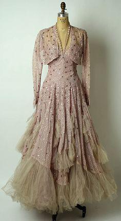British Silk Gown - 1943