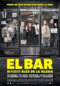 """Estreno en cines de """"El bar"""", de Alex de la Iglesia. APPA: Emma Martínez (contabilidad)"""