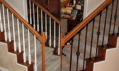 Best Home Depot Balusters Interior Iron Railings On Iron Stairs Interior Wrought Iron Stair 400 x 300