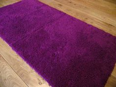 Purple Grape Non Slip Machine Washable Rainbow Rug Machine Washable Rugs, Shag Rug, Rainbow, Purple, Shaggy Rug, Rain Bow, Rainbows, Blankets, Viola