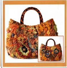 Freeform - сумки. Комментарии : LiveInternet - Российский Сервис Онлайн-Дневников Crochet Handbags, Crochet Purses, Crochet Bags, Love Crochet, Knit Crochet, Slave Bracelet, Freeform Crochet, Balenciaga City Bag, Purses And Handbags