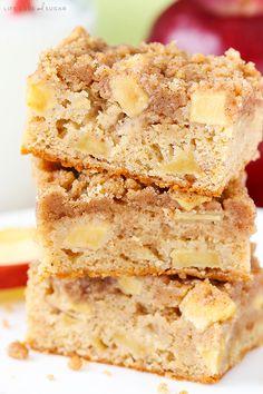 Apple Streusel Bars | Life, Love, and Sugar