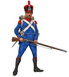 French 4th Regt. Carabinier 1815